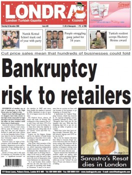 Bankruptcy risk to retailers