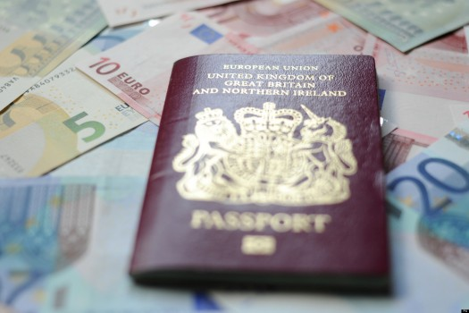 Brits travelling to the EU will have to pay €7