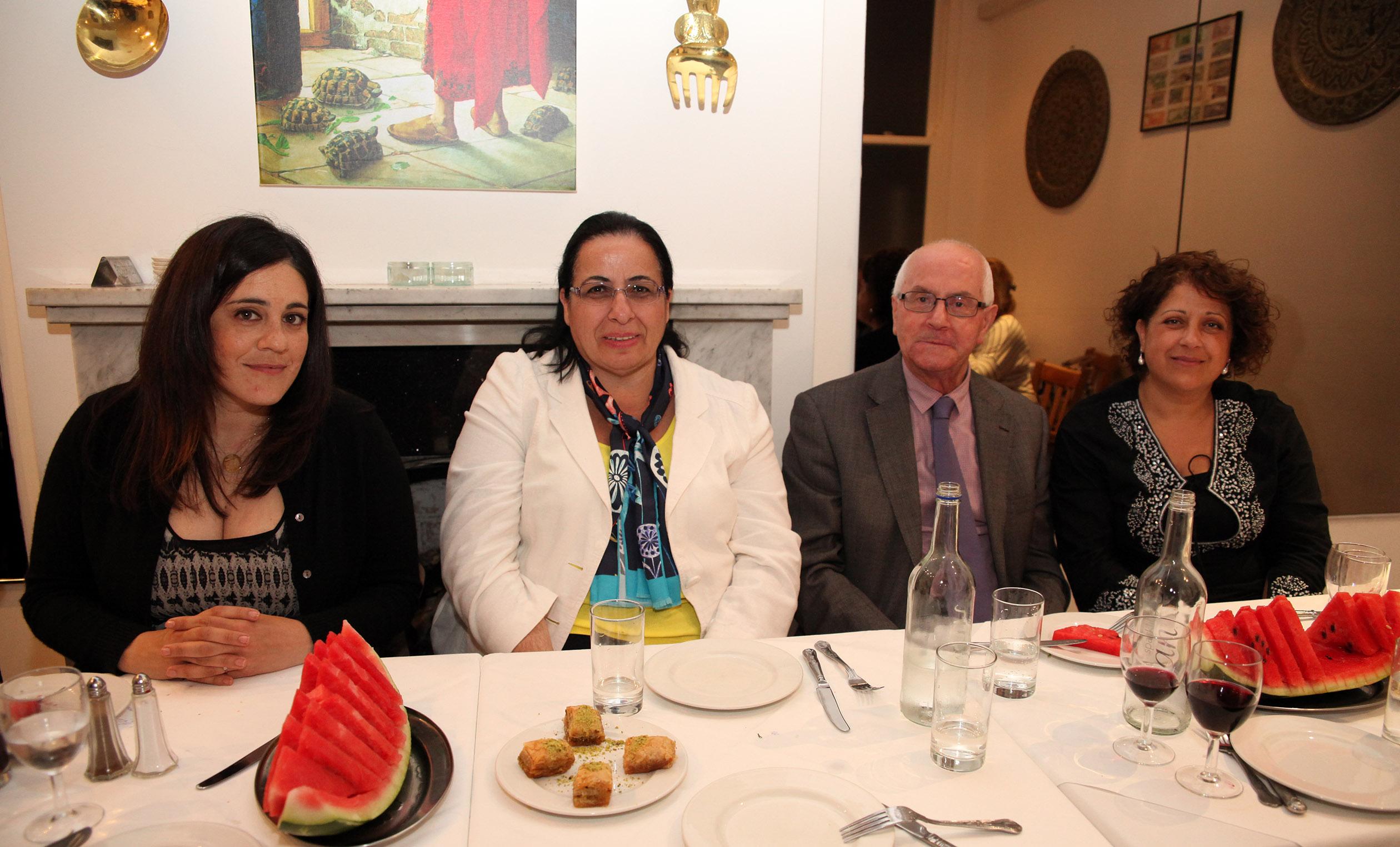 KKTC temsilci Oya Tuncalı ve meclis üyeleri