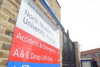 North Middlesex Hastanesi cayır cayır yanabilir