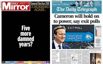 David Cameron  yine 10 numarada