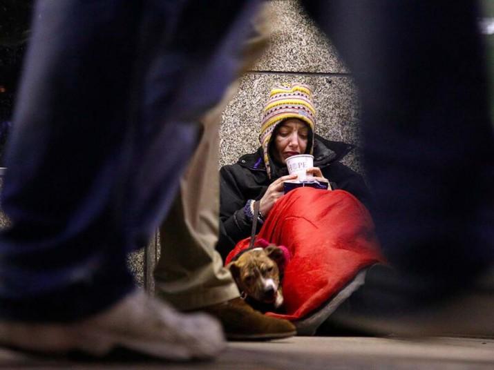 Londra'da yeni evsizlerin sayısında rekor artış