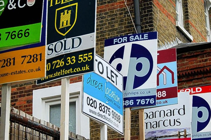 UK property sales boom in busiest month in 10 years