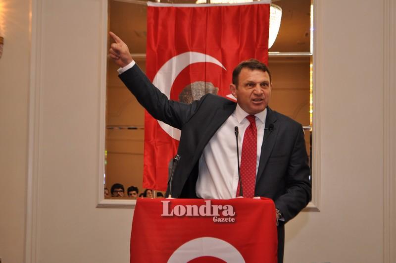 TBMM'nin 96. yılında Türker Ertürk Londra'da konuştu