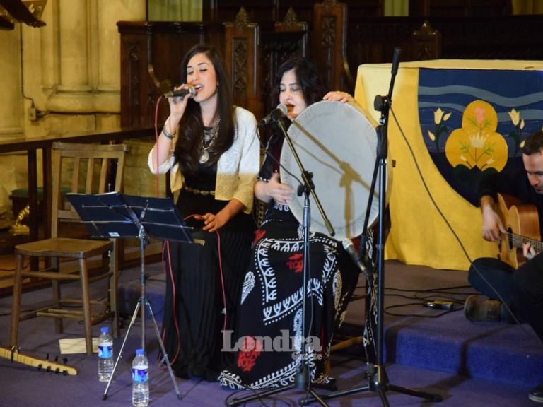 Londra'da Ezidi kadınlar için yardım konseri düzenlendi