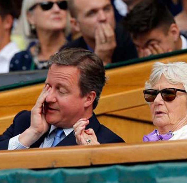 Cameron, Wimbledon'da yuhalandı