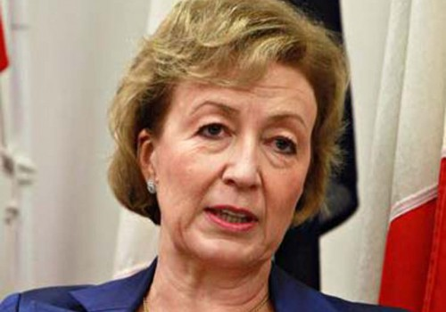 Commons Leader Andrea Leadsom resigns