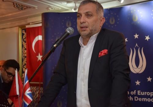 AKP İstanbul Milletvekili Külünk, Londra'yla buluştu