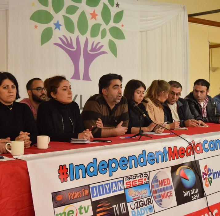 Demokratik Güç Birliği Türkiye gündemine dair basın toplantısı gerçekleştirdi