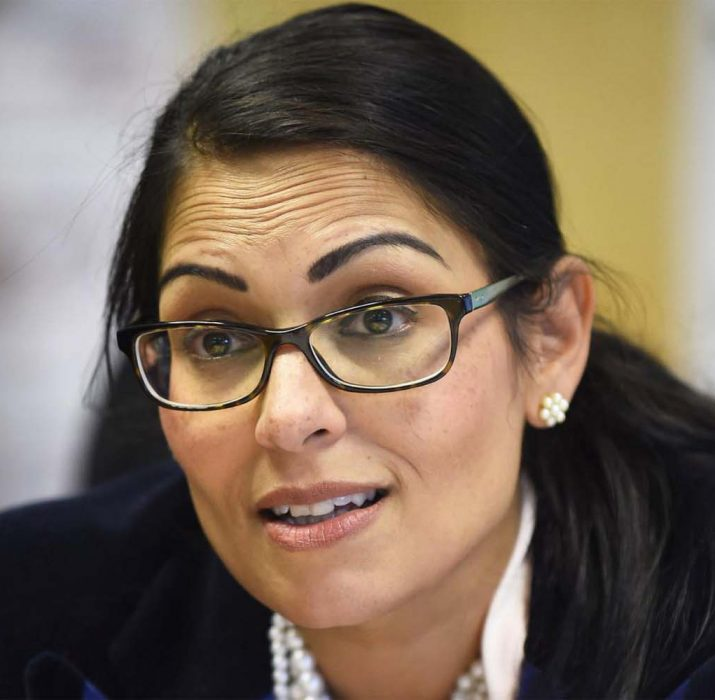 Priti Patel to give No10 press conference at 5pm with Brits facing tougher crackdown