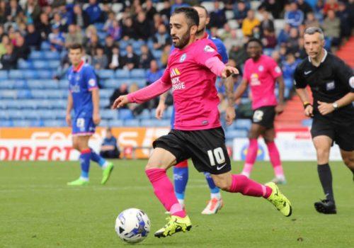 Erhun'un gol attığı maçta Walsall berabere