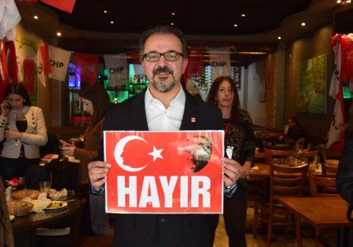 "CHP said ""No"" to the upcoming referendum"