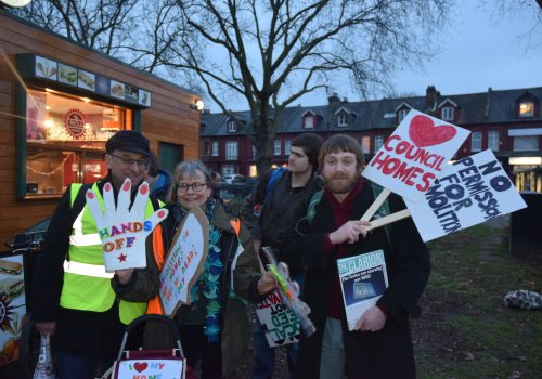 """""""Stop the Haringey Sell-Off!"""""""