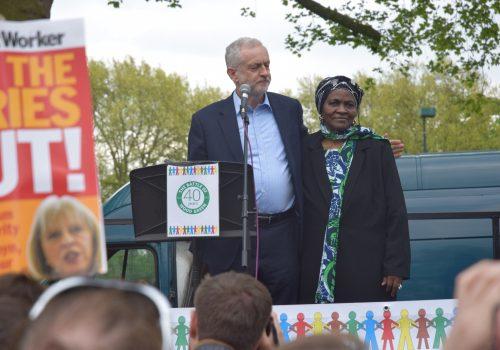 Wood Green'in anti-ırkçılık kutlamasında Jeremy Corbyn konuştu