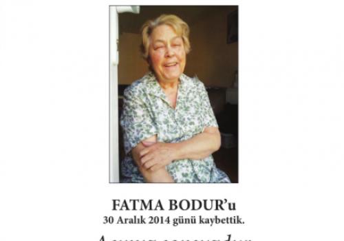 Fatma Bodur