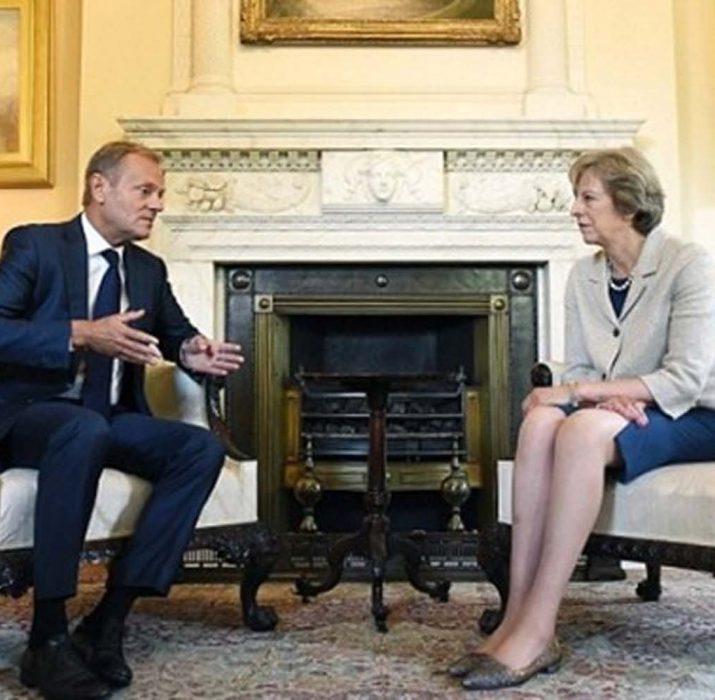 Tusk ve May, Brexit'i görüştü