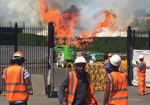 Wimbledon ateşler içinde!