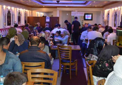 IHH UK hosts Iftar meal in London