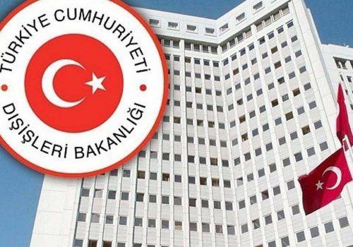 Türk Dışişleri terör saldırısını kınadı
