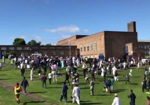 İngiliz polisi: Bayramlaşmaya gelmiş