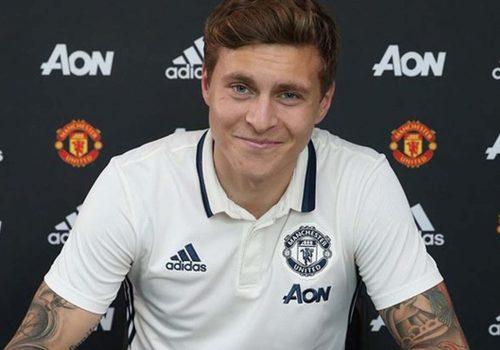Manchester United, Victor Lindelöf'e imzayı attırdı
