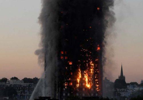 Grenfell Tower'da ölü sayısı 12'ye çıktı