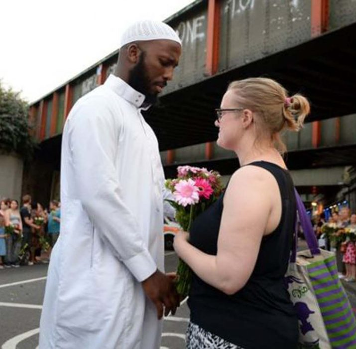 'Müslüman komşuma dokunma'