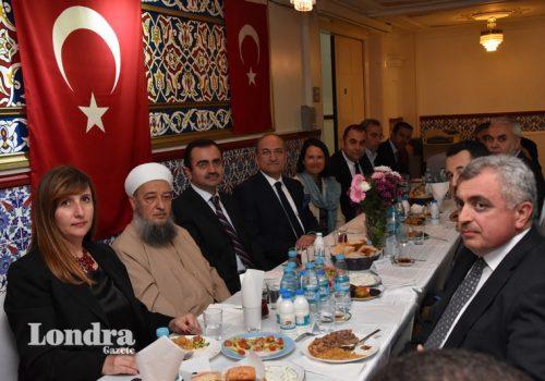 İngiltere Türk Diyanet Vakfı iftar verdi