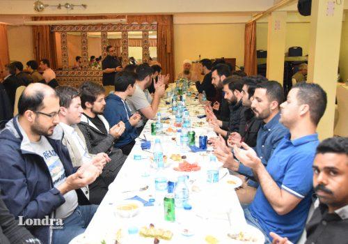 Aziziye Camisinden gurbetçi öğrencilere iftar