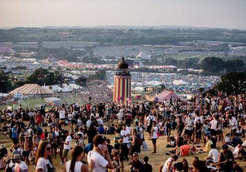 2017 Glastonbury Festivali'nde renkli anlar