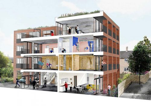 Naked Homes: Affordable housing scheme in North London with homes from £150,000
