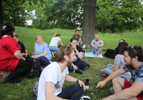 Ankara Agreement visa holders met on Hyde Park