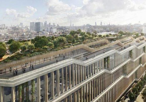 Londra mimarisinde Google dönemi