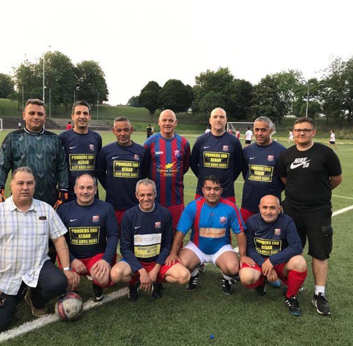 Veteranlar Yaz Ligi'nde 38 gol