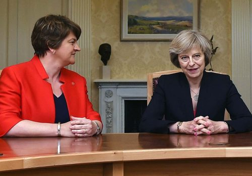 'Significant progress' in Theresa May's talks with the DUP