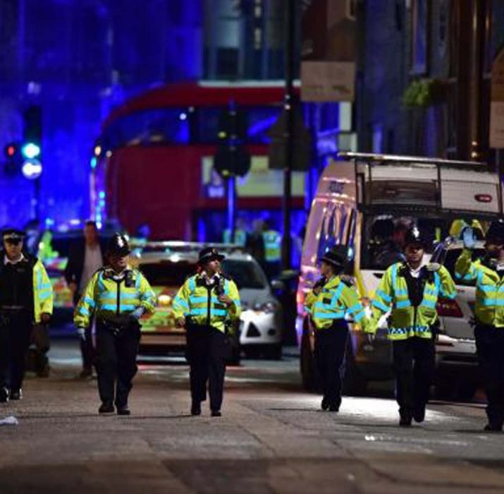 London attack: Six killed in vehicle and stabbing incidents