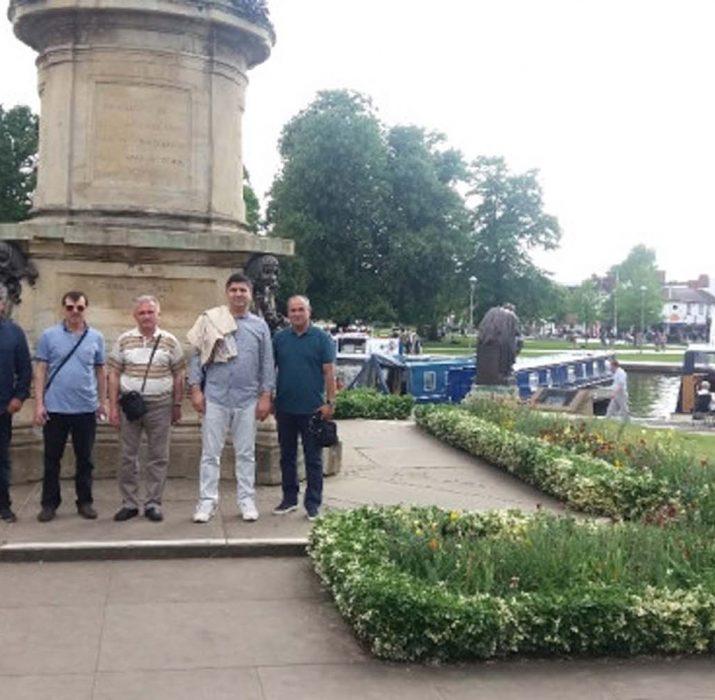 Burhaniyeli öğretmenlerin Birmingham ziyareti
