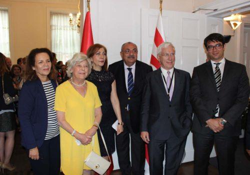 Northern Cyprus Representative holds Eid reception