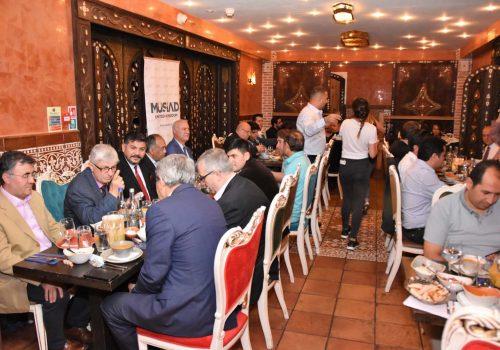 Turkish politics and business people met on iftar