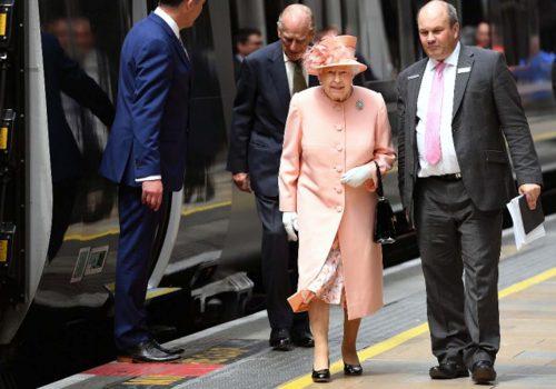 Kraliçe'nin 175 yıl öncesinin rotasında tren yolculuğu