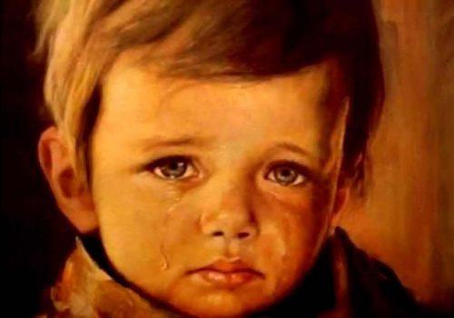 Ağlayan Çocuk laneti
