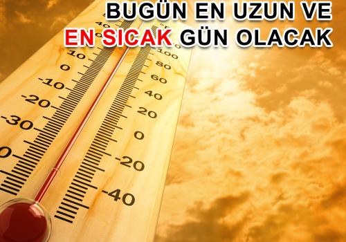 Bugün Londra'nın en uzun ve en sıcak günü