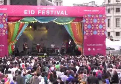 """İngiltere'de """"Ramazan Bayramı Festivali"""""""