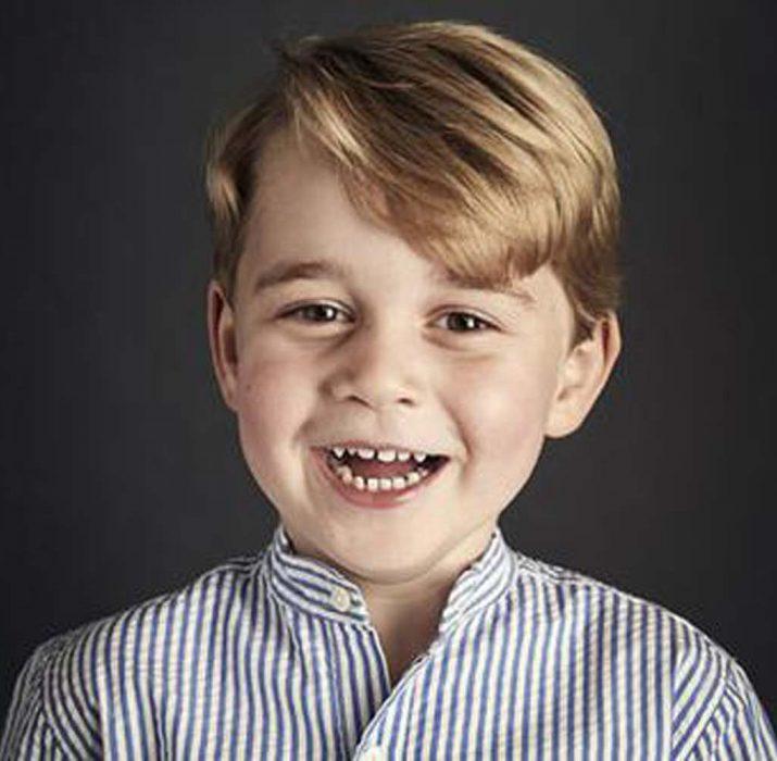 Prens George 4 yaşında