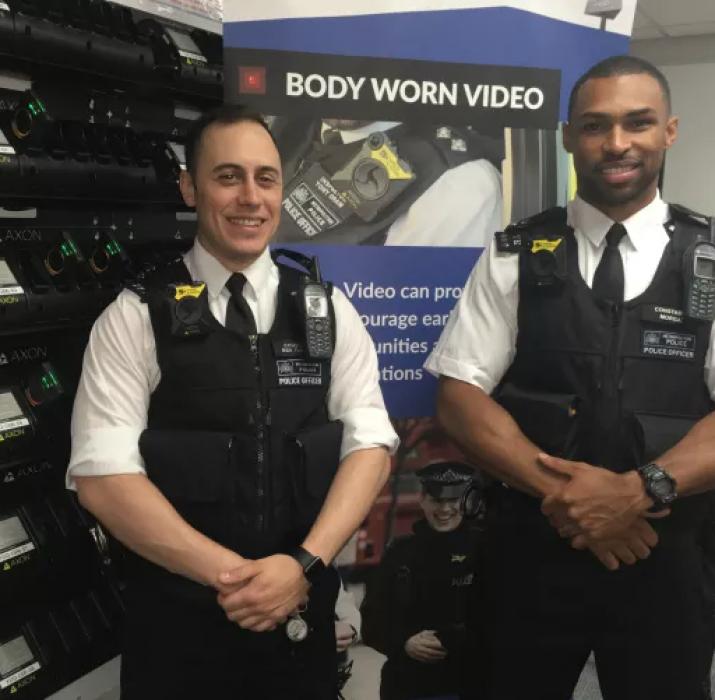 Haringey'de polis 'vücut kamerası' uygulamasına başladı
