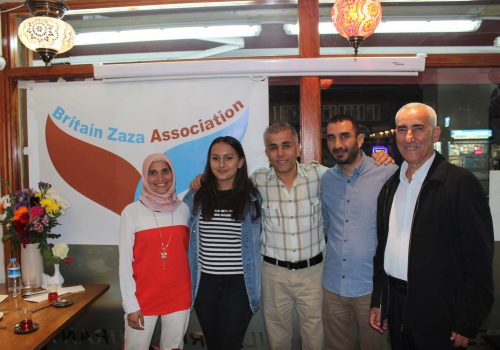 Britain Zaza Association got launched