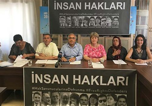 Human rights defenders in Turkey blast detention of activists