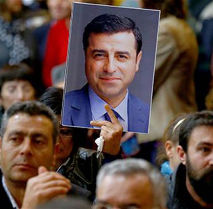 Turkey's opposition HDP to stage 'justice watch' until anniversary of lawmakers' arrests