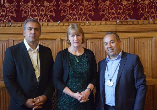 Alevi Sekreteryası Nuriye Gülmen ve Semih Özakça için Parlemento'da bir araya geldi