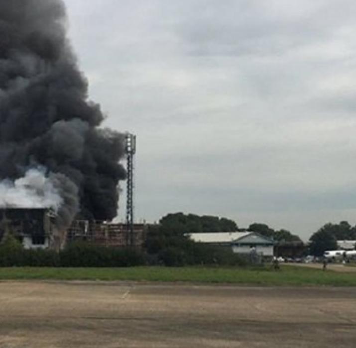 Southend Havalimanı yakınında patlama